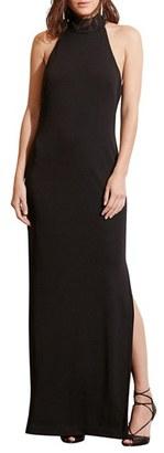Women's Lauren Ralph Lauren Jersey Column Gown $194 thestylecure.com