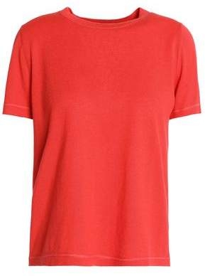 RED Valentino Cashmere And Silk-Blend Top