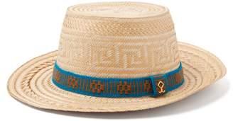 Yosuzi Elias Straw Hat - Mens - Beige