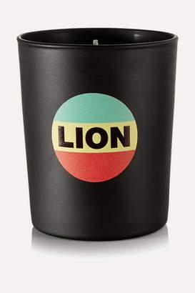 Bella Freud Lion Scented Candle, 190g - Black