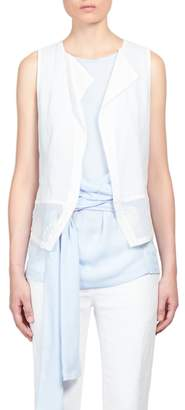 Ann Demeulemeester Women's Paneled Waistcoat Vest