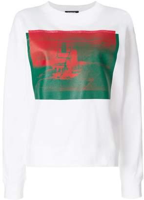 Calvin Klein x Andy Warhol Foundation Little Electric Chair sweatshirt