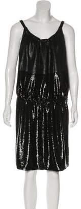 Balenciaga Sequin Evening Dress