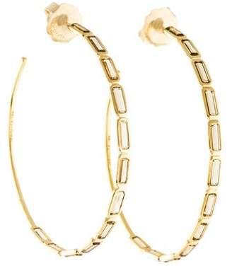 Ippolita 18K Gelato Citrine Hoop Earrings
