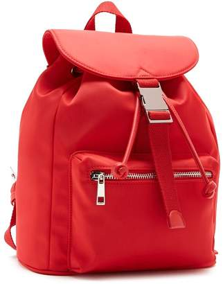 Forever 21 Drawstring Flap Top Backpack