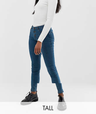 Noisy May Tall front seam skinny jean