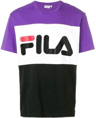 Fila colour block T-shirt
