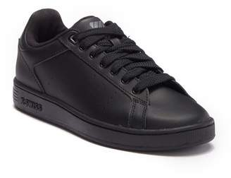 K-Swiss Clean Court Leather Sneaker (Big Kid)