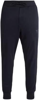 Y-3 Slim-leg cotton-blend track pants