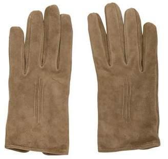 Ralph Lauren Purple Label Suede Wrist Gloves