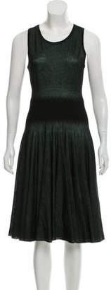 Alaia Knit Midi Dress