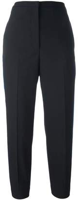 Golden Goose cropped side stripe trousers