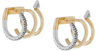 Maria Black 14kt gold Bess Blanc diamond earrings (pair)