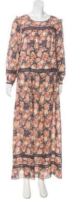 Current/Elliott Floral Print Maxi Dress