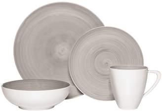 Mikasa Grey 48 Piece Dinnerware Set