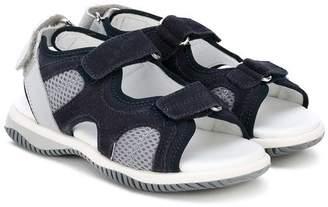 Hogan double strap sandals