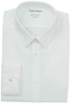 Calvin Klein White Extreme Slim Fit Dress Shirt