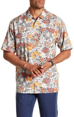 Tommy Bahama Subtropical Palm Short Sleeve Print Original Fit Shirt