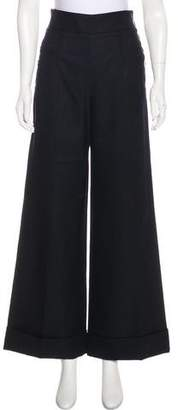 Stella McCartney Wool Wide-Leg Pants