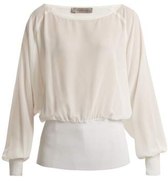 Sportmax Vacuo Blouse - Womens - Ivory