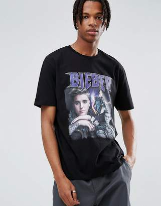 Asos Justin Bieber Relaxed T-Shirt