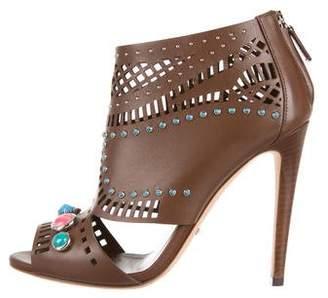 Gucci Lika Embellished Booties