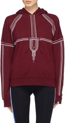 The Upside 'Phoenix' geometric embroidered hoodie