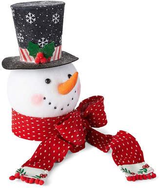 Co North Pole Trading Snowman Head Tree Topper