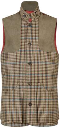 Purdey Tweed Shooting Gilet