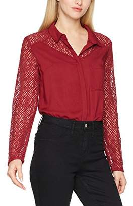 Jennyfer Women's CHH17DOPIO Long-Sleeved Top,(Manufacturer Size:)