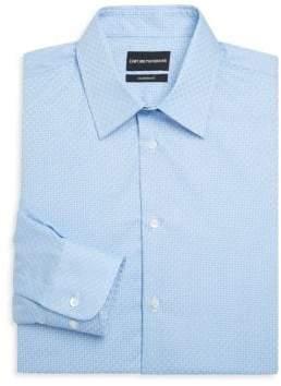 Emporio Armani Modern Fit Cotton Woven Shirt