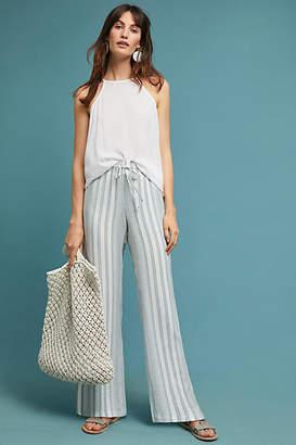 Cloth & Stone Striped Wide-Leg Pants