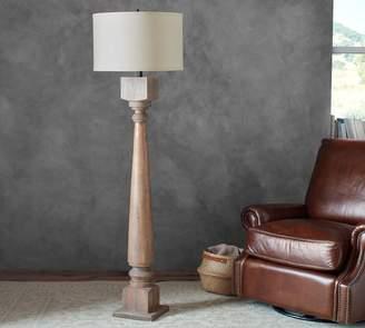 Pottery Barn Finn Turned Wood Floor Lamp Base
