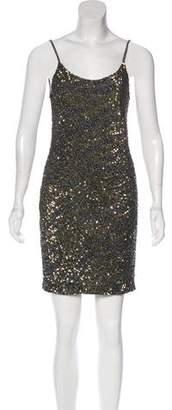 Haute Hippie Sequin Mini Dress w/ Tags