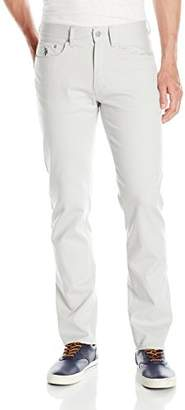 U.S. Polo Assn. Men's Stretch Chino Slim Straight Pant