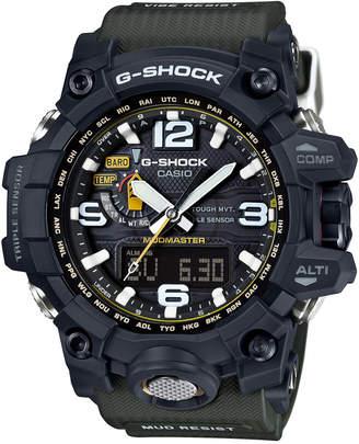 G-Shock Men's Analog-Digital Mudmaster Green Bracelet Watch 56x59mm GWG1000-1A3 $750 thestylecure.com