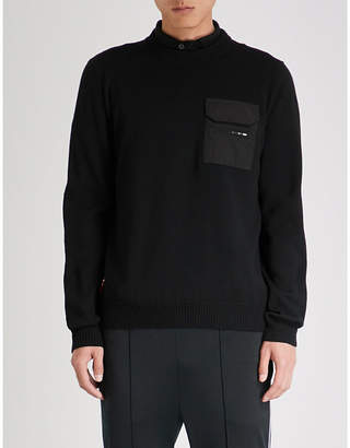 Prada Pocket-embellished wool jumper