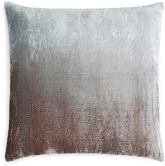 Kevin OBrien Kevin O'Brien Studio Dip-Dye Silk Velvet Decorative Pillow, 20 x 20