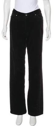 Christopher Blue Wide-Leg Corduroy Pants
