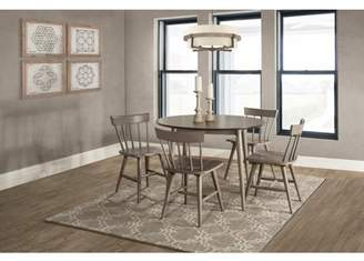 Hillsdale Furniture Mayson Five (5) Piece Dining Set with Spindle Back Chairs