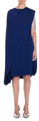 Stella McCartney Cape Overlay Dress