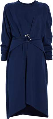 Carven Draped T-shirt Dress