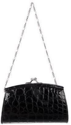 eaba3327763a Judith Leiber Alligator Kiss-Lock Mini Bag