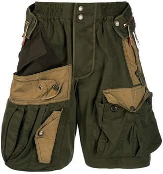 DSQUARED2 cargo panelled shorts