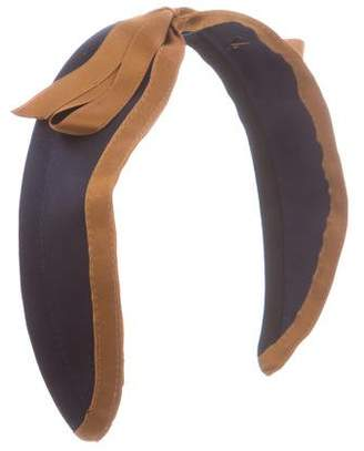 Jennifer Ouellette Satin Wide Headband