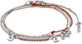Pilgrim Lianne Czech Crystal Charm Bracelet