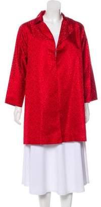 Shamask Silk Short Coat