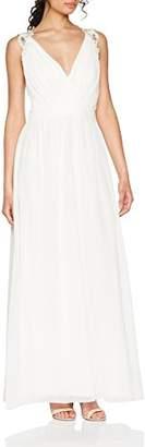Little Mistress Women's Pearl Bridal Party Dress,6