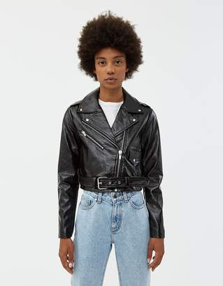 Veda Vinyl Baby Jane Moto Jacket