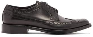 Burberry Aleighton Leather Brogues - Mens - Black